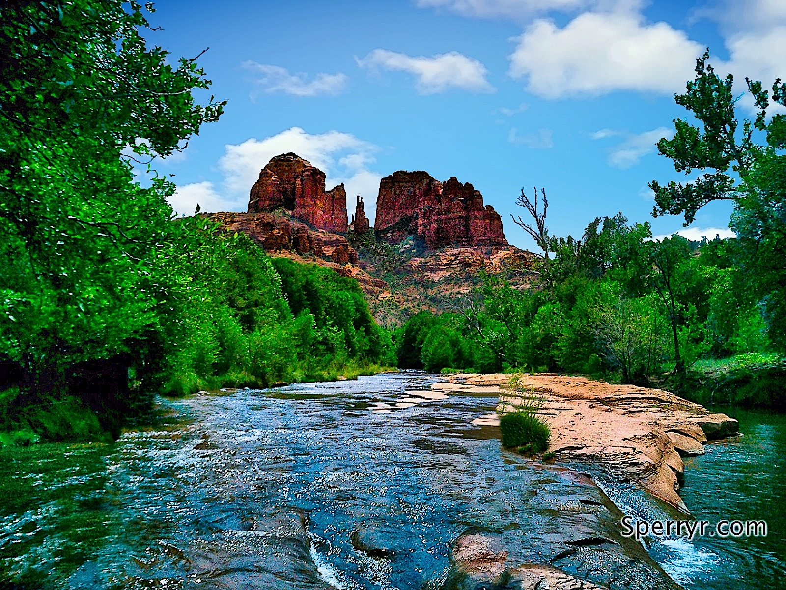 Cathedral Rock Red Rock Crossing - Sheri Sperry Coldwell Banker top sedona real estate agent