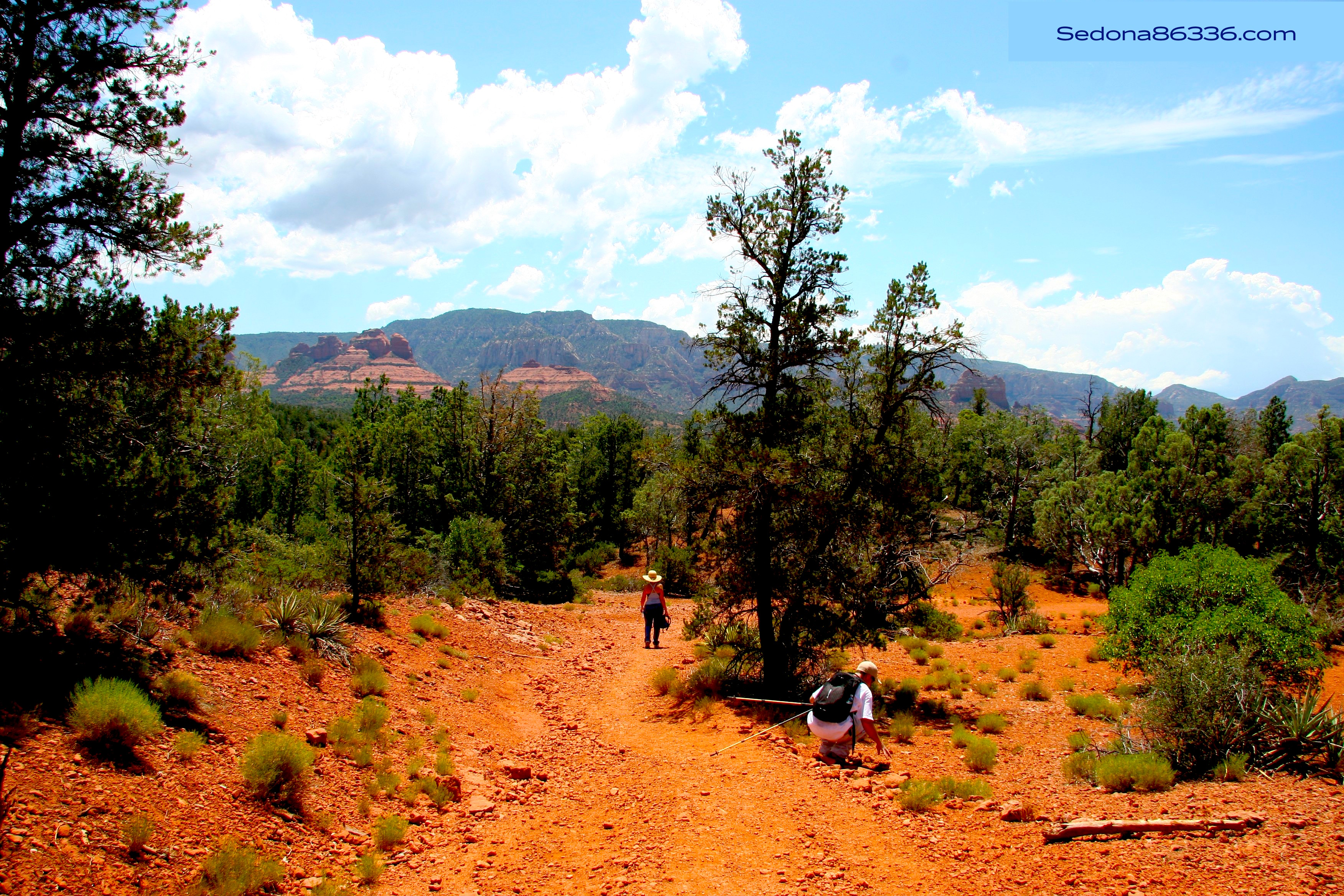 Hiking Jordon Park -Sheri Sperry Coldwell Banker top sedona real estate agent